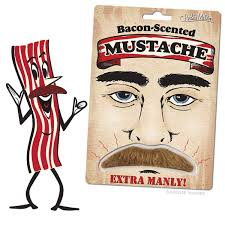 bacon-scented-mustache