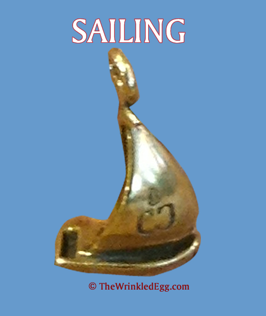 charm: campfire collections - sailing charm
