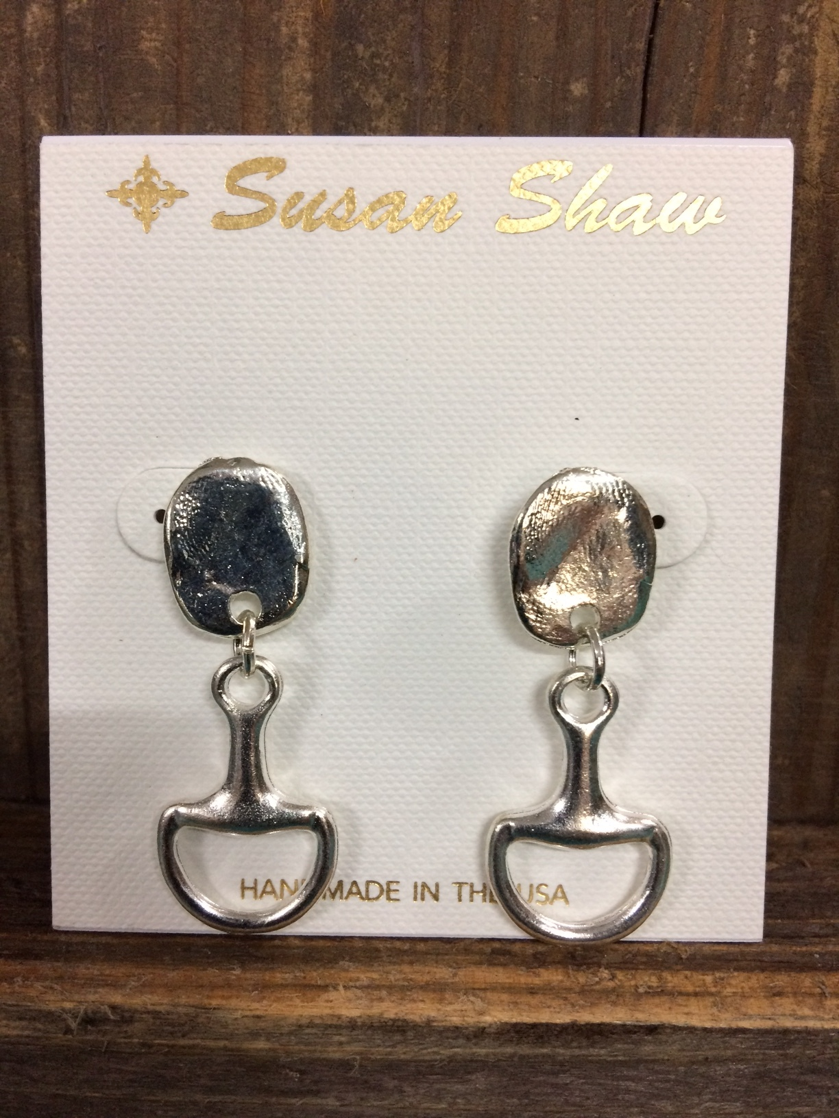 susan-shaw-equestrian-earrings-silver-snaffle